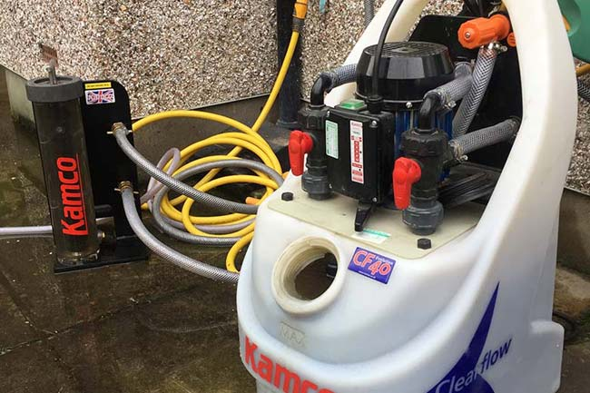 power flushing bexley