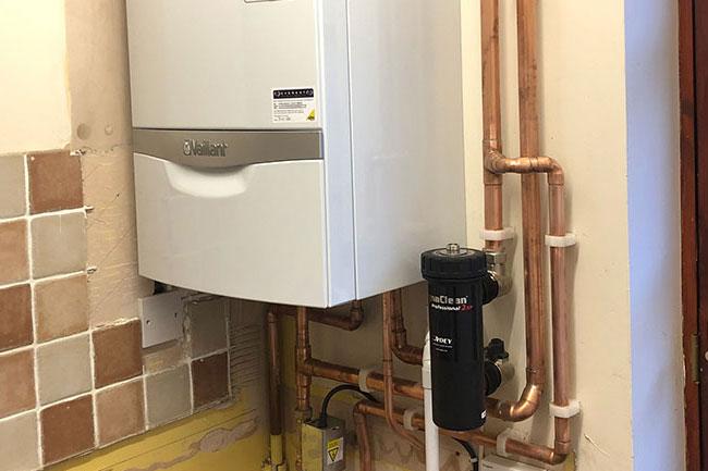 boiler installation culverstone