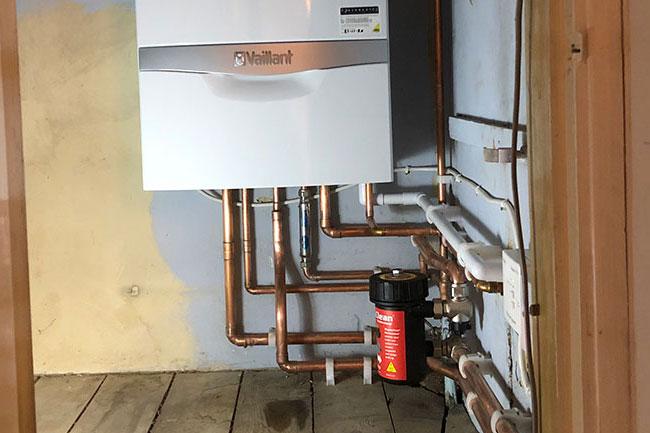 boiler installation strood