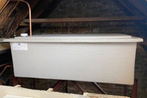 cold water storage tank replacement