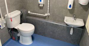 doctors surgery toilet refurbishment