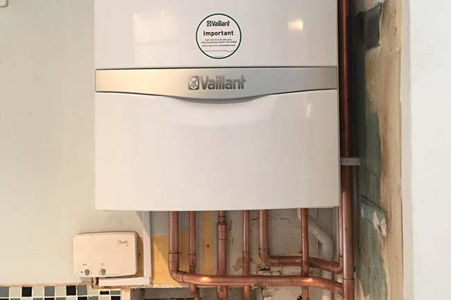 combi boiler installation gillingham