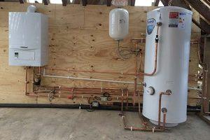 boiler full heating system installation hextable