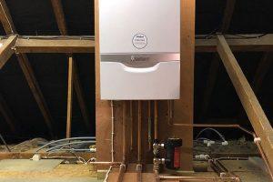 boiler installation new barn