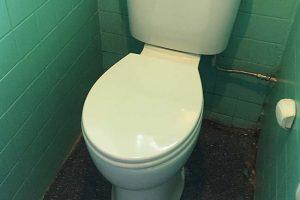 high level toilet installation belvedere