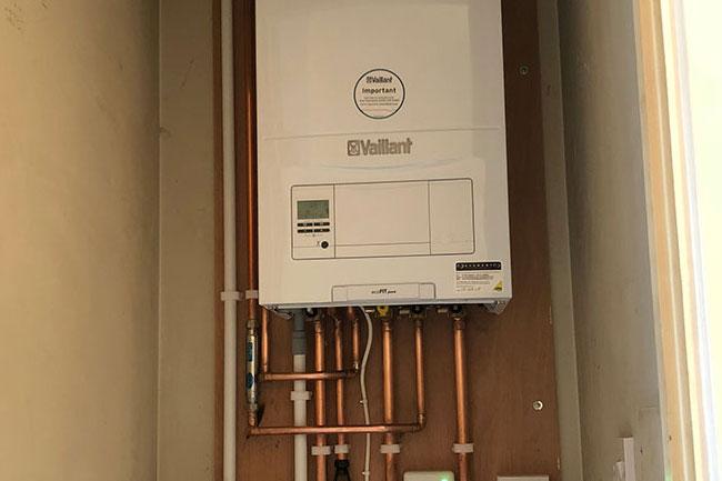 boiler installation new ash green