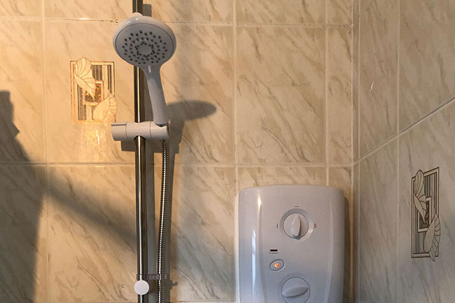 triton electric shower installation