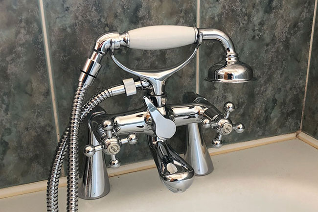 new taps fitting crayford