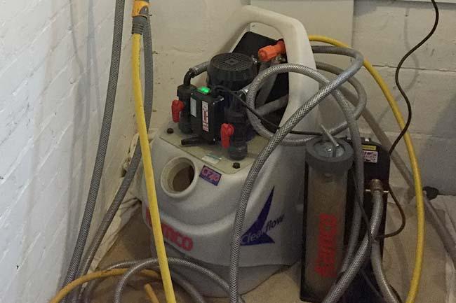 power flush sidcup