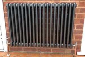 column radiator installation belvedere