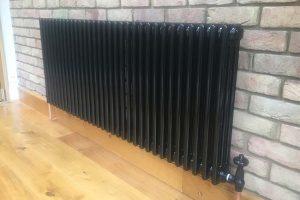 column radiator installation sidcup