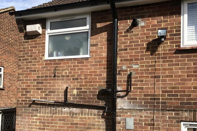 soil stack replacement erith