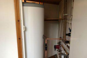unvented hot water cylinder installation gravesend