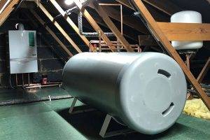 unvented hot water cylinder system new barn
