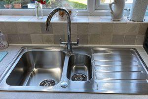 kitchen sink tap installation wilmington