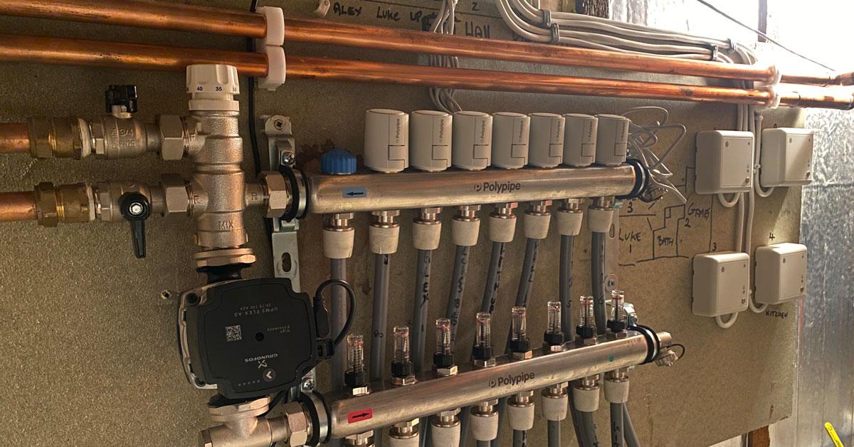 underfloor heating replacement