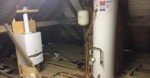 boiler and unvented cylinder installation dartford