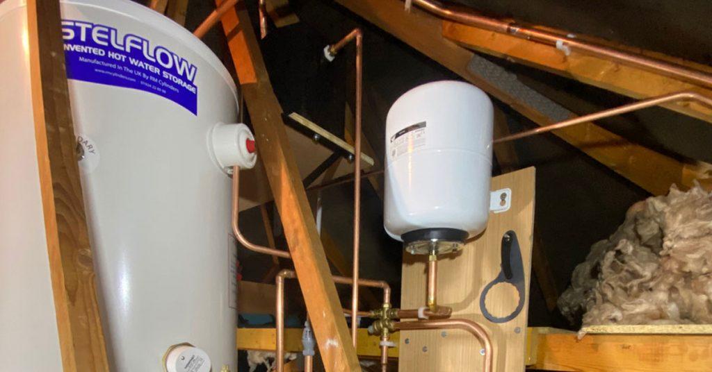 unvented cylinder installation benfleet